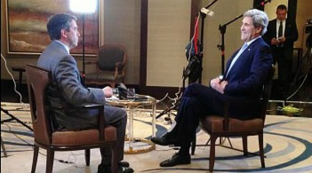 Wiretap Probe: Fox News? James Rosen interviews Secretary of State John Kerry.