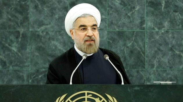 Nuclear Demand: Iranian President Hassan Rouhani addressed the U.N. General Assembly in New York for the first time on Tuesday.