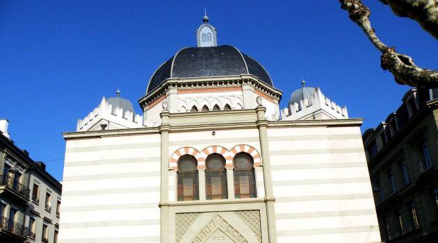 The Beth Yaakov, or Grande, Synagogue in Geneva