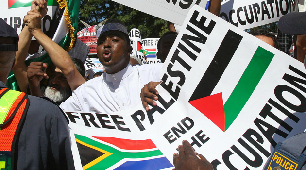 Strained Ties: South Africa?s ties with Israel have grown strained over calls for boycotts and protests over the Palestinians.