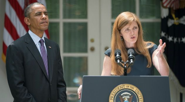 Laying the Groundwork: Some Republicans may be itching for another scorched earth fight with President Obama. Samantha Power has done some groundwork to prevent that from happening