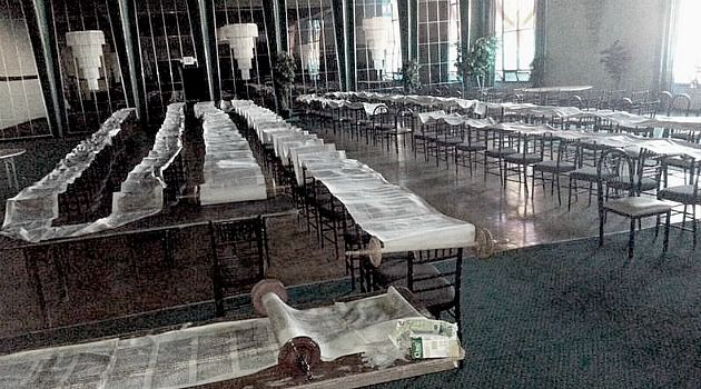 Separation of Sandy and Shul: The superstorm did massive damage to synagogues including this one on Long Island. But the Jewish community is deeply divided on whether the federal government should provide aid to houses of worship, Sandy or no.