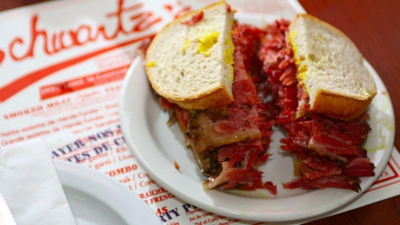 """Montreal's """"Temple of Smoked Meat"""""""