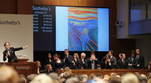On the Block: Edvard Munch?s ?The Scream? fetched nearly $120 million at auction. Should the masterpiece be considered Nazi-looted art?