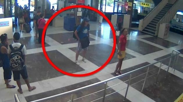 Face of Evil: Security video shows suspected bomber in Bulgaria airport.