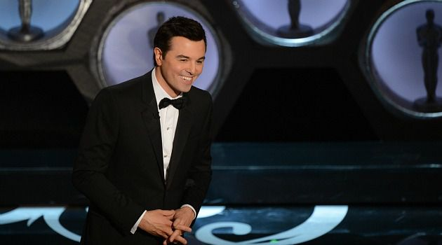 Not Too Funny : Oscars host Seth MacFarlane made jokes about gays, women, Latinas and Jews. Just because he was an equal opportunity offender doesn?t make it any less, well, offensive. Plus, he wasn?t too funny.