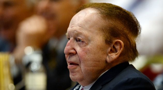 All Ears: Casino magnate Sheldon Adelson listens as Jewish Republicans gathered for their annual conference in Las Vegas.
