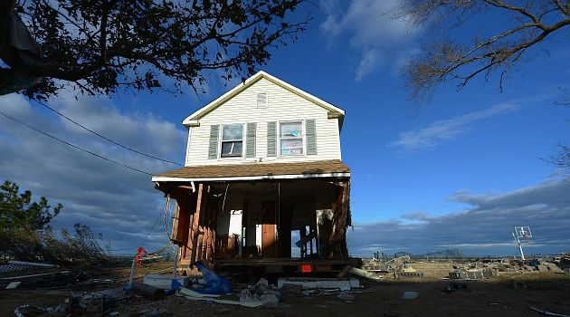 Storm Split: Sandy struck the entire Jersey Shore hard. But while one Jewish town is sputtering back to life, another still sits in the dark.