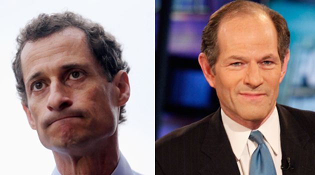 FRESH FACES?: Two familiar names are getting back into New York City politics. But will Anthony Weiner and Eliot Spitzer be able to overcome their checkered pasts?