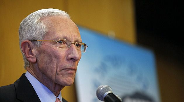 Outgoing Bank of Israel governor Stanley Fischer