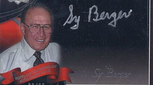 Card-a-Palooza: The million-dollar baseball card industry was created in large part by Seymour Perry Berger who was born on New York's Lower East Side in 1923.