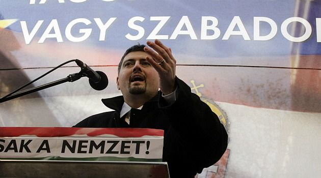 Hungary Change: Csanad Szegedi stepped down from leadership in the openly anti-Semitic Jobbik Party after admitting Jewish ancestry.