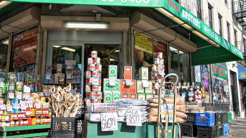 The Teitels, a Jewish family originally from Austria, have sold Italian groceries on Arthur Avenue since 1915.