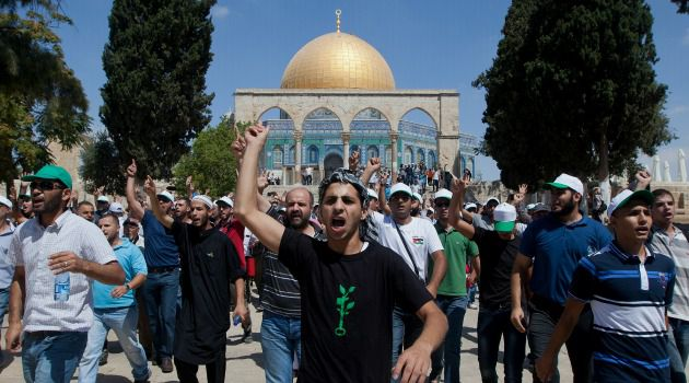 Holy Feud: Palestinian anger over increased Jewish access to the Temple Mount sparked another round of clashes in Jerusalem.