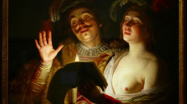 Looted: Gerrit van Honthorst?s ?The Duet? was confiscated by the Nazis from Jewish art collector Bruno Spiro