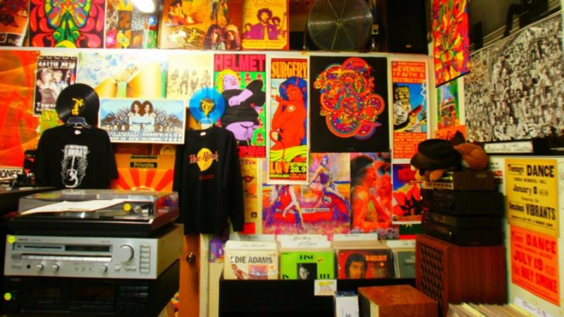 A Tower Records interior in 2010. A new Sacramento Deli is being named after Tower founder and native son Russ Solomon.