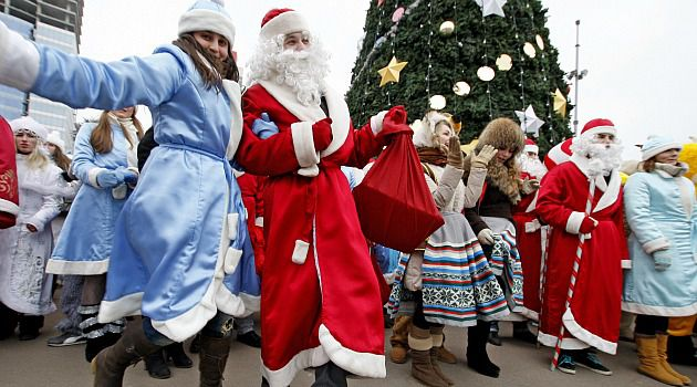 Don?t Be Naughty: The Ukraine government is reminding Santa Clauses to pay taxes on any money they make from performances during the holiday season.
