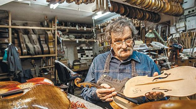Amnon Weinstein has devoted his life to researching and collecting Holocaust-era violins.