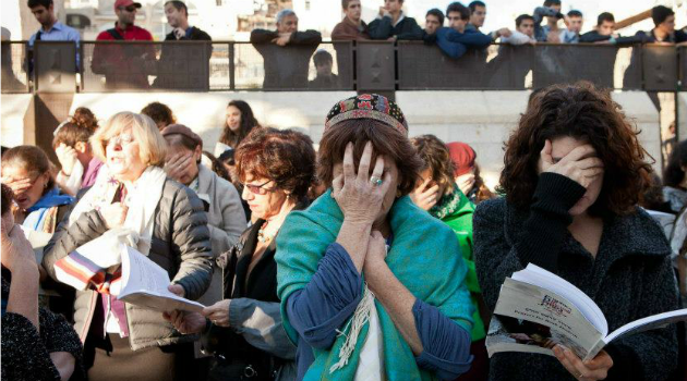 Protest or Prayer? Women pray at the Western Wall. Police detained several of them for breaking religious rules at Judaism?s holiest site.