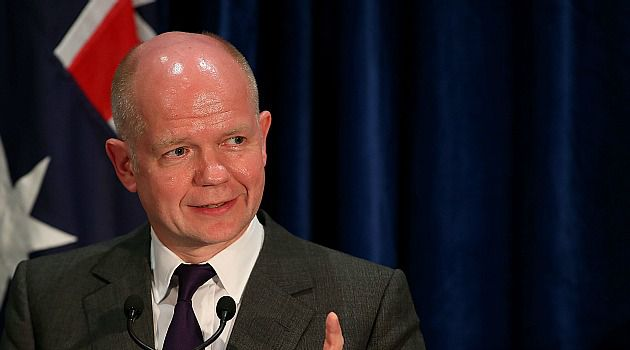 Fading Hopes: British Foreign Secretary William Hague has warned Israel it will face decreasing international support if it continues to expand the occupation of Palestinian land.