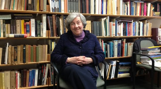 "Beneath the Placid Exterior: Ruth Wisse is a small, gray-haired woman who is not afraid to use sharp words; she once accused The New Yorker of ""hate-mongering"" when it came to Israel."