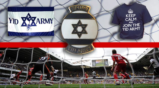 No More Slurs:The Tottenham Spurs traditionally have had a large Jewish support base in London sometimes known as the?Yid Army.?