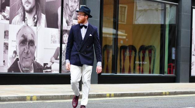 Break With Tradition: Yosel Tiefenbrun, an ordained Chabad rabbi, has a fashion sense that is a bit un-Orthodox.
