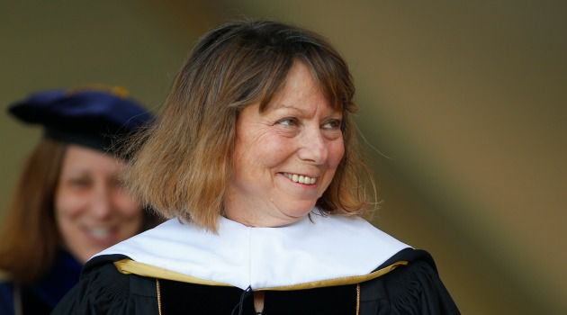 Deposed Leader: The former executive editor of The New York Times, Jill Abramson.