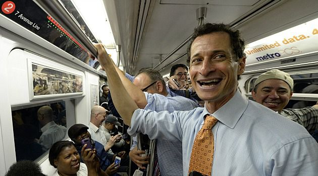 Comeback Kid: A new poll shows Anthony Weiner has 25% of the support in the New York City Democratic mayoral primary field. That puts him on top of putative frontrunner Christine Quinn.