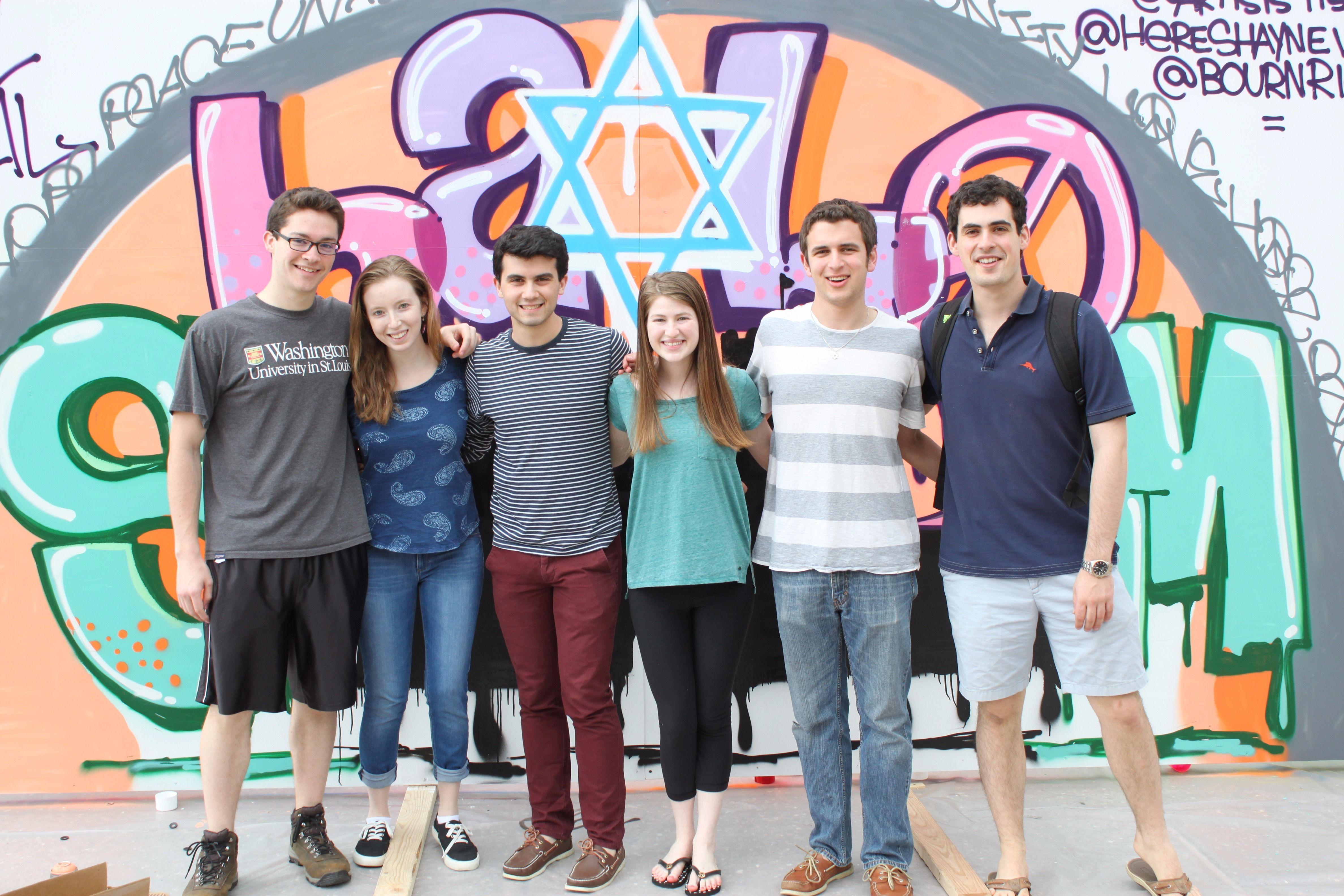 Jewish students at Washington University in St. Louis