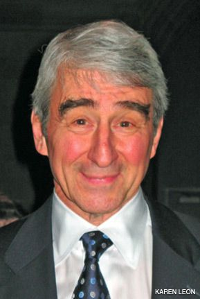 GOOD SHOW: Actor Sam Waterston spoke at the event.