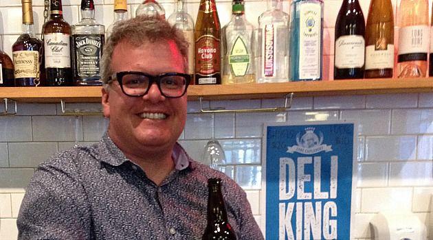 Better Deli Days: Zane Caplansky behind the bar of his eponymous Toronto deli.