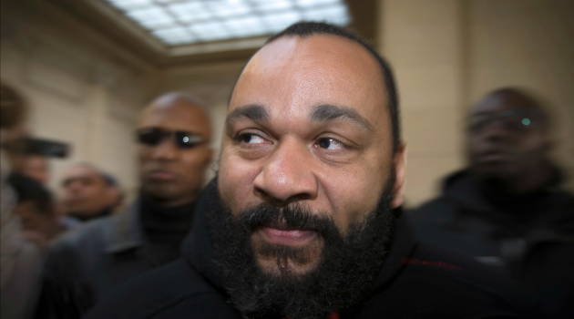 A protest against anti-Semitism and controversial comedian Dieudonne M?bala M?bala turned anti-Jewish.