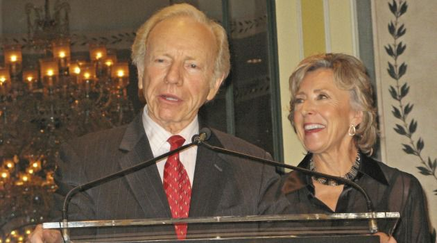 Senator Joseph Lieberman and Hadassah Lieberman