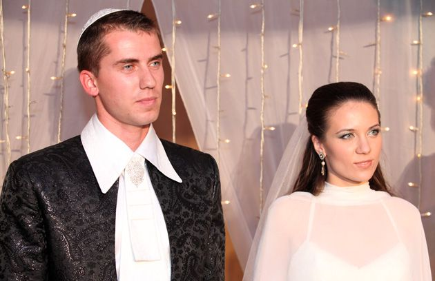 Where to Wed? Maxim and Alina Serjukov had to register their intention to marry in the village of Beer Tuvia after the top rabbi in their hometown of Ashkelon rejected her conversion.