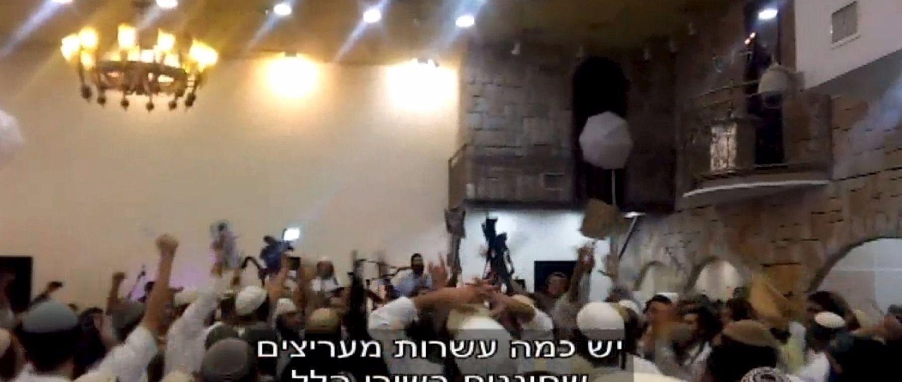 Westbank Firebombing: Right-wing extremists celebrate Duma murders.