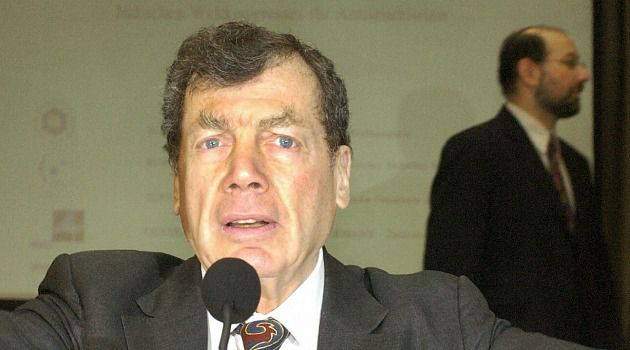 Benefactor: Edgar Bronfman, Sr. died in late December.