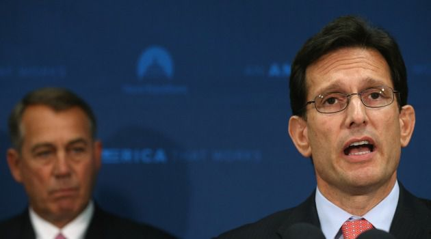 Tea Party Stunner: Eric Cantor, the No. 2 Republican in the House and the nation's top Jewish Republican, was defeated by a right-wing insurgent candidate in his conservative Virginia district.
