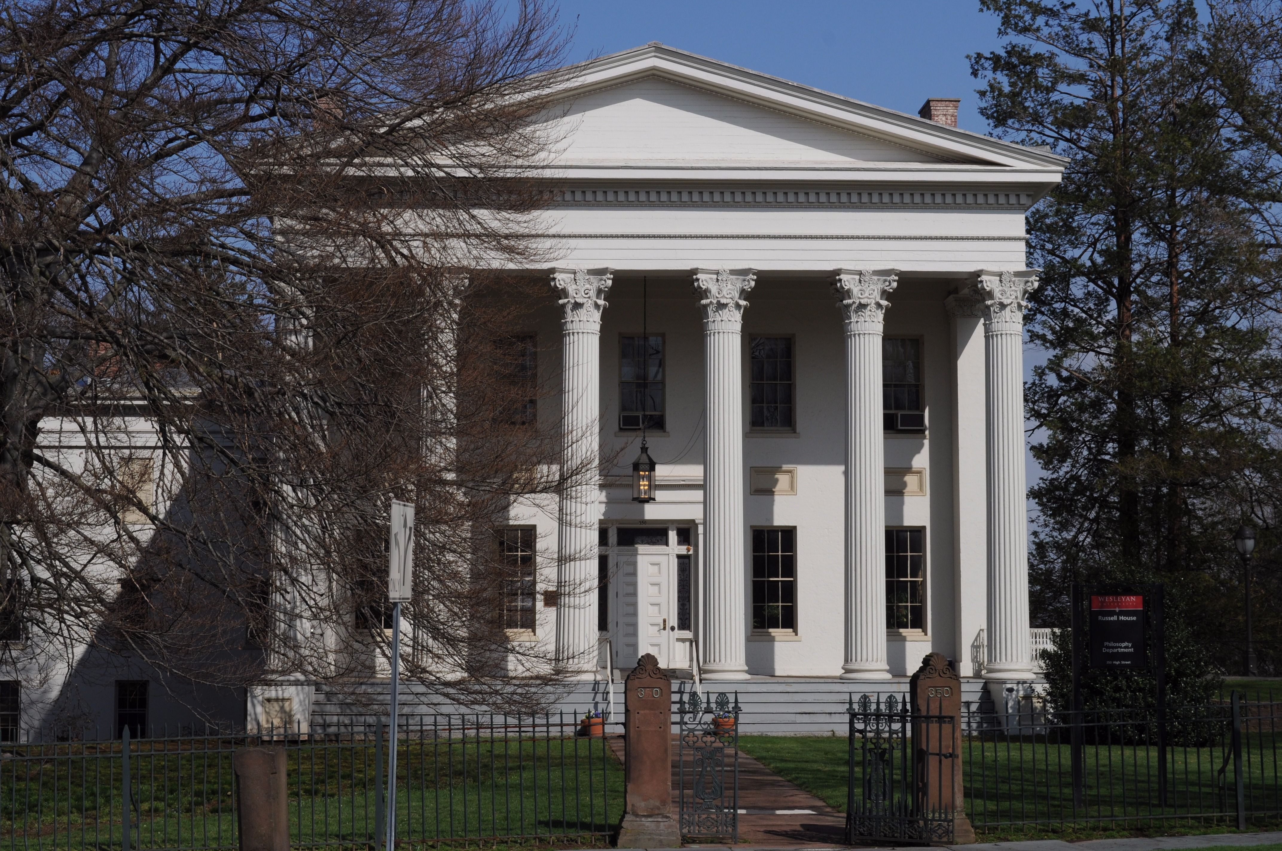 The Russell House at Wesleyan University