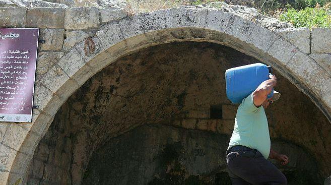 West Bank water crisis bites.