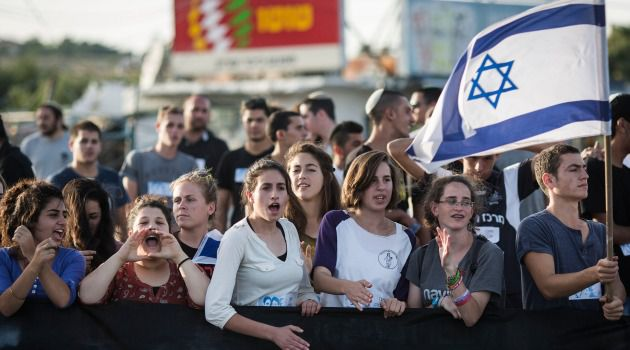 Suburb Not Flashpoint: Teenagers in Gush Etzion rally for the return of three kidnapped students. The settlement is in the spotlight, but it's usually a sleepy suburb not an international dateline.