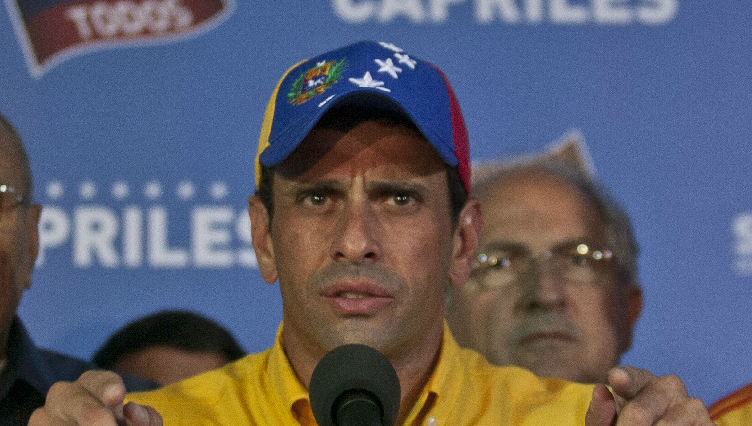 Tight Loss: Henrique Capriles demanded a recount after he lost in an unexpectedly tight race to succeed Venezuelan strongman Hugo Chavez.