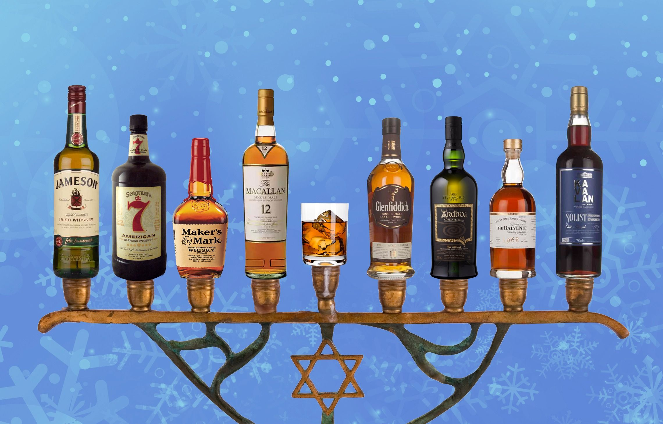 eight whiskies for eight nights of hanukkah the forward