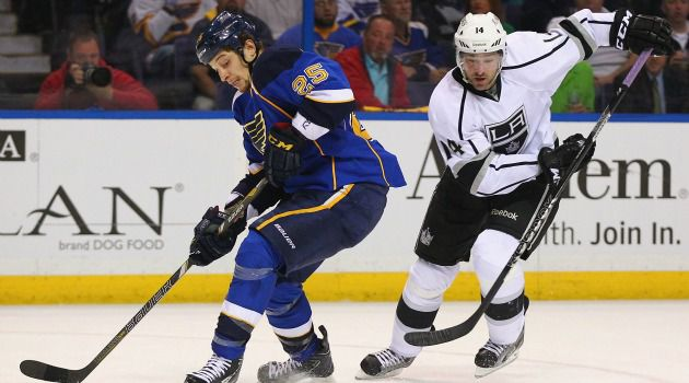 Caught Off-Sides? When the St. Louis Blues took to the ice against the Los Angeles Kings, it was easy to see the ?red lines? and what happens if you cross them. Not so with Iran and its nuclear program.