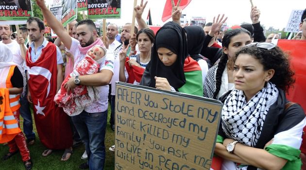 Stop the Hate: Anti-Israel protests have spread in Holland. Jews are demanding a crackdown on anti-Semitic speeches.
