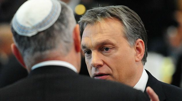 Disappointing: Hungarian Prime Minister Viktor Orban denounced anti-Semitism, but failed to mention far right Jobbik Party in opening address at World Jewish Congress plenary.
