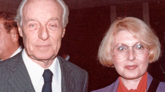 Baron Guy de Rothschild and Masha Leon in 1984.