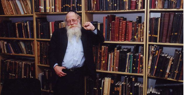 Literary Discipline: Working on the Talmud has kept his writing and intellect grounded, Steinsaltz says.