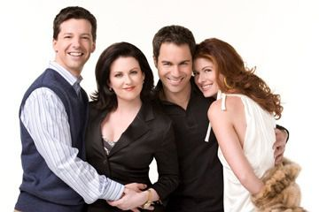 The cast of 'Will & Grace.'