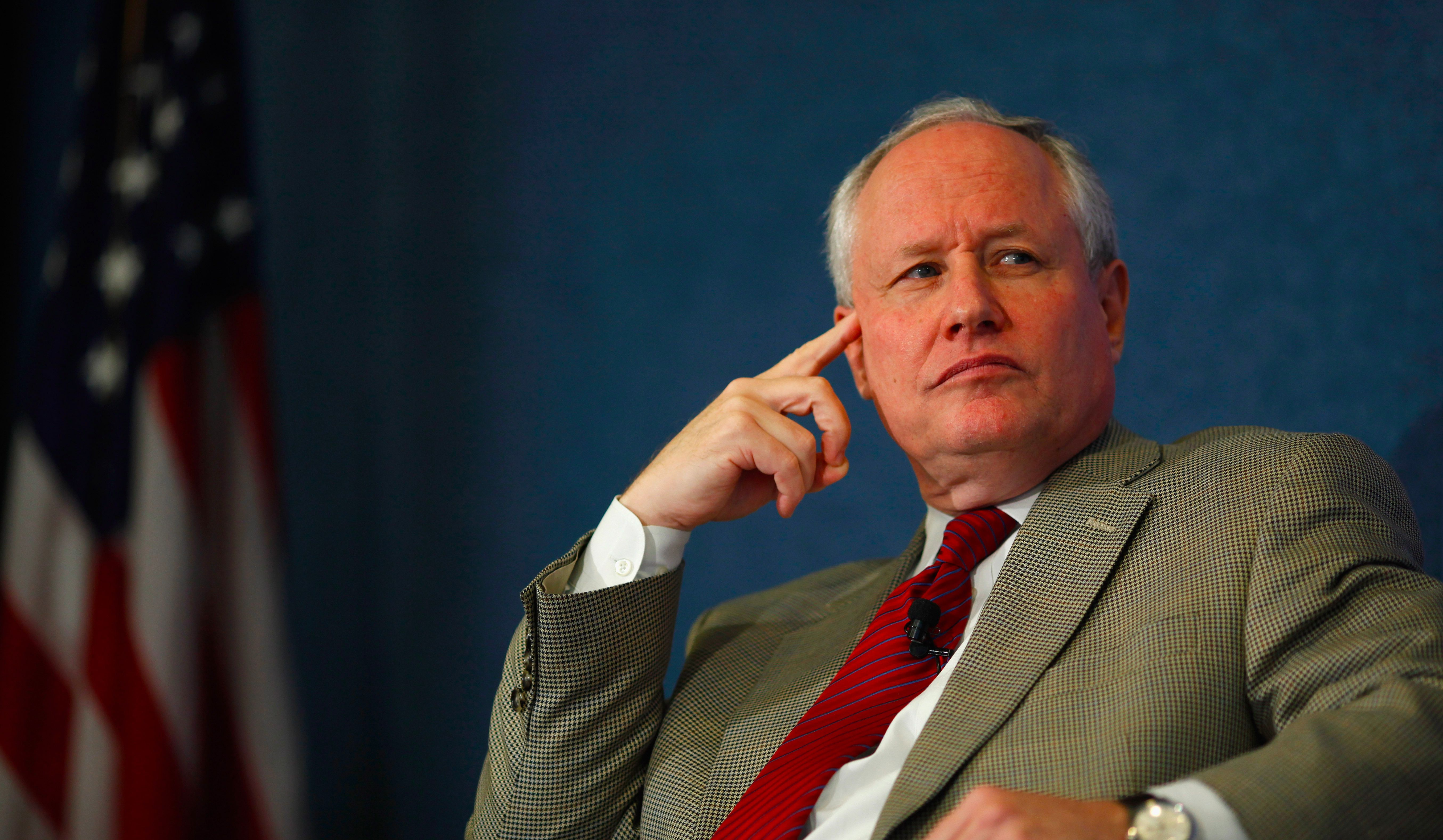 William Kristol in Washington D.C. on October 3, 2011.